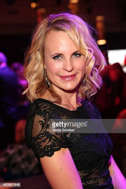 Designer Sonja Kiefer is seen during the Tribute to Bambi 2015 after show party at Station on October 15 2015 in Berlin Germany