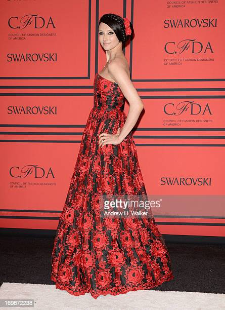 Designer Stacey Bendet attends the 2013 CFDA Fashion Awards on June 3, 2013 in New York, United States.
