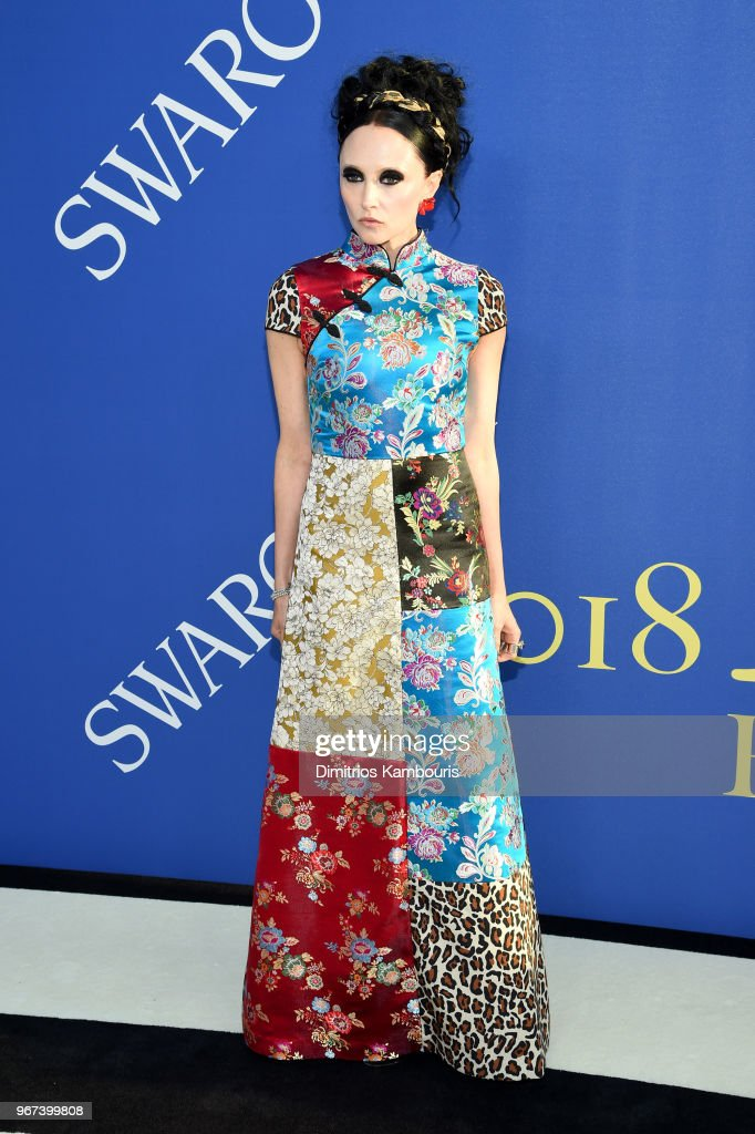 Designer Stacey Bendet attends the 2018 CFDA Fashion Awards at Brooklyn Museum on June 4, 2018 in New York City.