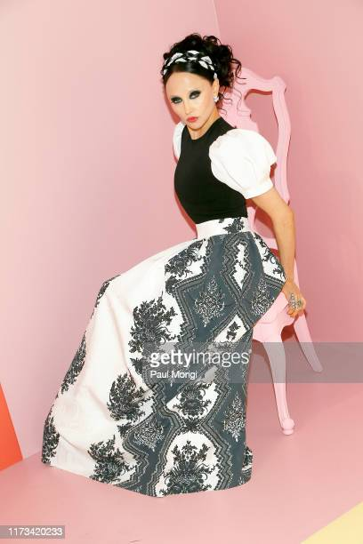 Designer Stacey Bendet attends the Alice + Olivia by Stacey Bendet arrivals during New York Fashion Week: The Shows on September 09, 2019 in New York...