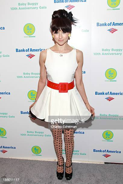 Designer Stacey Bendet attends the Baby Buggy 10th Anniversary gala at Avery Fisher Hall Lincoln Center on December 5 2011 in New York City
