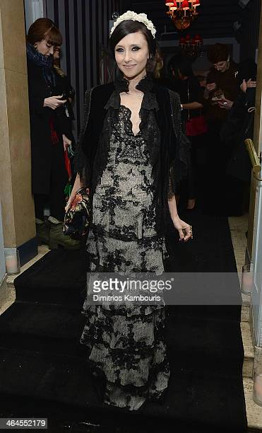Designer Stacey Bendet attends the Gimme Shelter screening after party hosted by Roadside Attractions and Day 28 Films with The Cinema Society on...