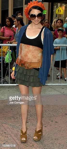 "Designer Stacey Bendet attends the premiere of ""The Extra Man"" at Village East Cinema on July 19, 2010 in New York City."