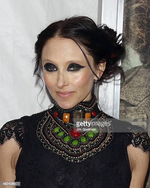 Designer Stacey Bendet attends the Suffragette New York premiere at The Paris Theatre on October 12 2015 in New York City