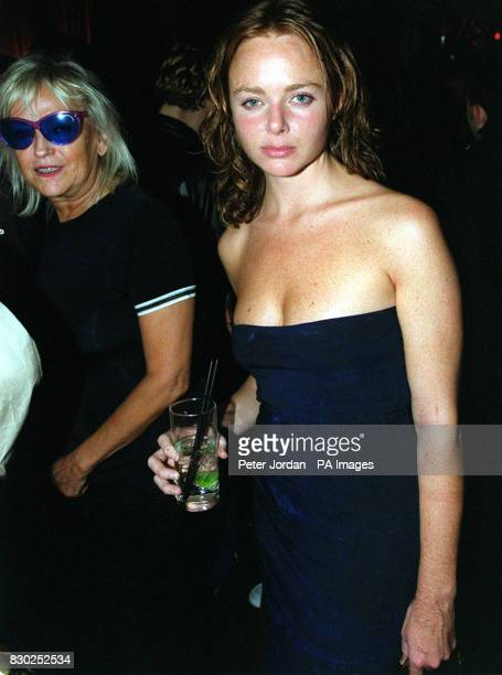 Designer Stella McCartney and DJ Annie Nightingale at the premiere of the BBC2 documentary Westway To The World in Notting Hill in London The film is...