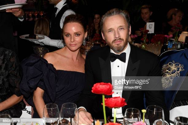 Designer Stella McCartney and her husband Alasdhair Willis during The Fashion Awards 2017 in partnership with Swarovski at Royal Albert Hall on...