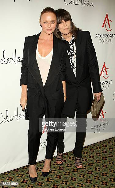 Designer Stella McCartney and singer Chrissie Hynde attend the 12th Annual ACE Awards where the Accessories Council honors fashion influencers at...