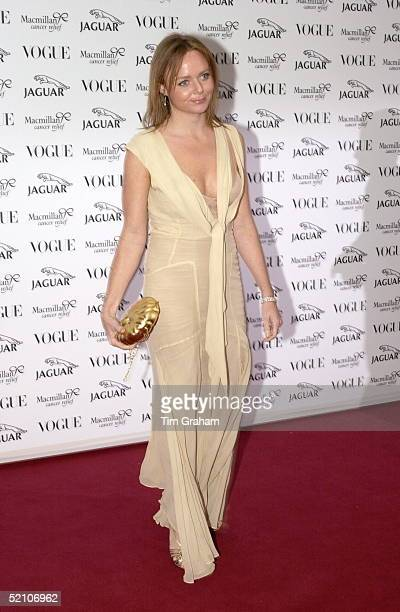 Designer Stella Mccartney At A Fashion Show And Gala At Waddesdon Manor In Buckinghamshire In Aid Of The Macmillan Cancer Relief Charity