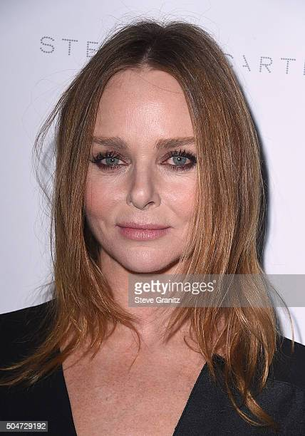 Designer Stella McCartney attend Stella McCartney Autumn 2016 Presentation at Amoeba Music on January 12 2016 in Los Angeles California