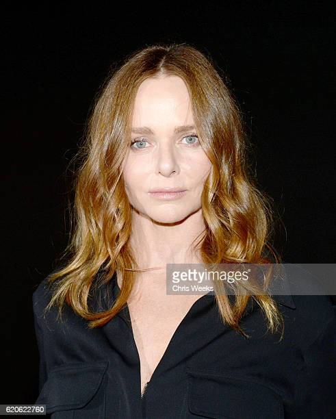 Designer Stella McCartney attends adidas by Stella McCartney Spring Summer 2017 Collection Presentation on November 2 2016 in Los Angeles California