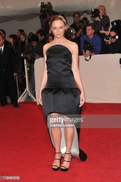 Designer Stella McCartney attends the 'Alexander McQueen Savage Beauty' Costume Institute Gala at The Metropolitan Museum of Art on May 2 2011 in New...