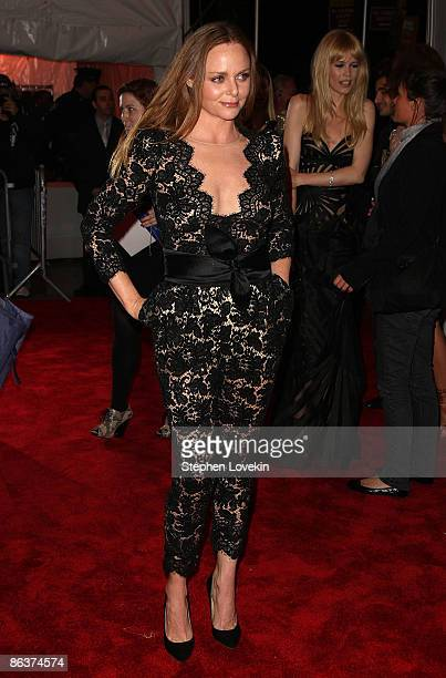 Designer Stella McCartney attends The Model as Muse Embodying Fashion Costume Institute Gala at The Metropolitan Museum of Art on May 4 2009 in New...