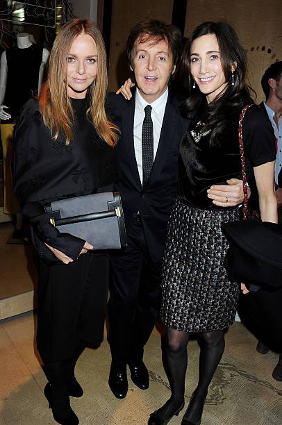 Designer Stella McCartney Sir Paul And Nancy Shevell Attend The Switching On Of