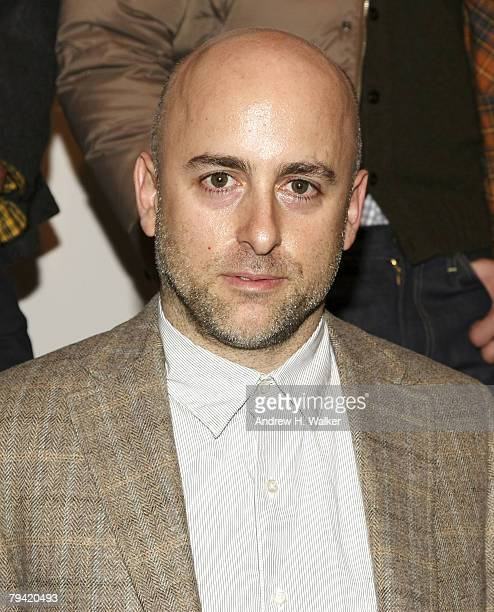 Designer Steven Alan attends a GQ and CFDA celebration for The Best New Menswear Designers In America on January 30 2008 in New York City