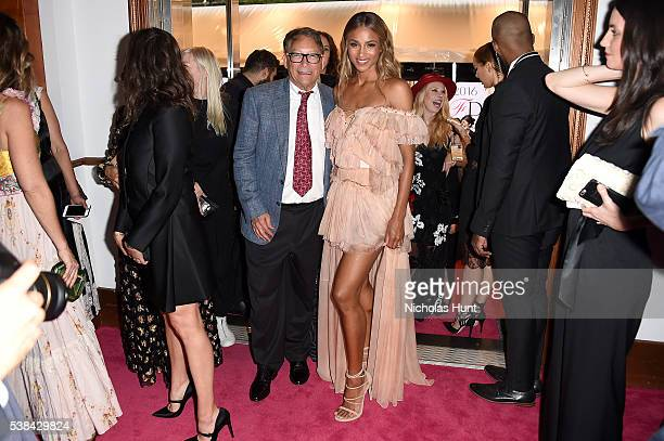 Designer Stuart Weitzman and singer Ciara attend the 2016 CFDA Fashion Awards at the Hammerstein Ballroom on June 6, 2016 in New York City.