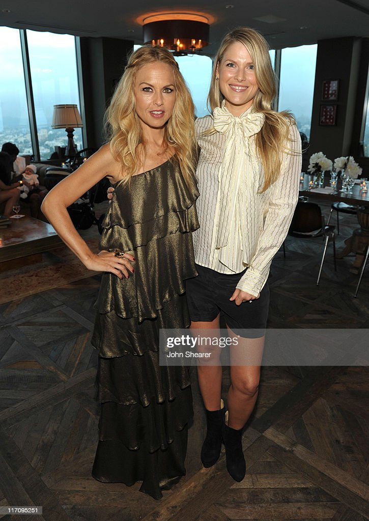 Designer/ Stylist Rachel Zoe and Actress Ali Larter attend 'InStyle's Dinner With A Designer' for Rachel Zoe at Soho House on June 21, 2011 in West Hollywood, California.