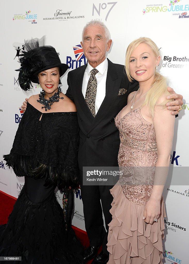 Designer Sue Wong, Prince Frederik of Denmark and Julia Alexander attend BritWeek Celebrates Downton Abbey at The Fairmont Miramar Hotel on May 3, 2013 in Santa Monica, California.