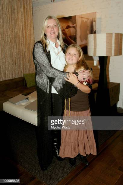 Designer Suss with Daughter during Suss Designs Store Opening at Suss Designs in New York City New York United States