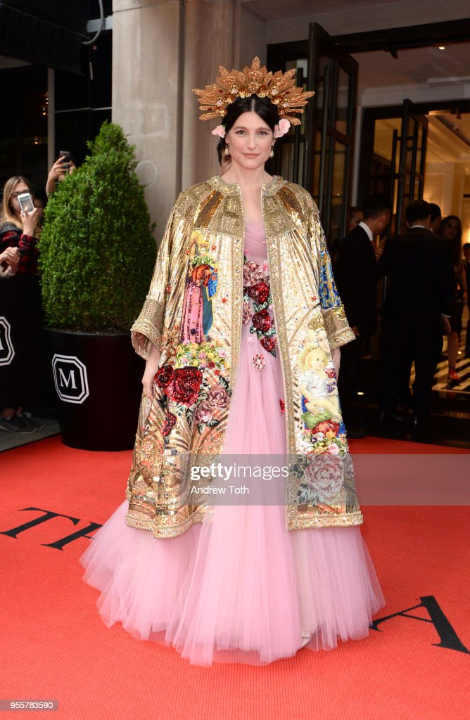 Designer Tabitha Simmons attends as The Mark Hotel celebrates the 2018 Met Gala at The Mark Hotel on May 7, 2018 in New York City.