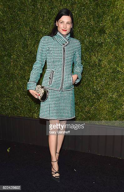 Designer Tabitha Simmons attends the 11th Annual Chanel Tribeca Film Festival Artists Dinner at Balthazar on April 18 2016 in New York City