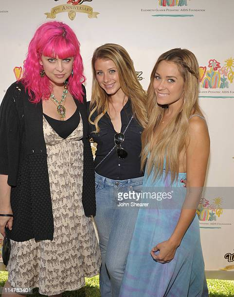 Designer Tarina Tarantino, and TV personalities Lauren Bosworth and Lauren Conrad attend the A Time for Heroes Celebrity Carnival Sponsored by...