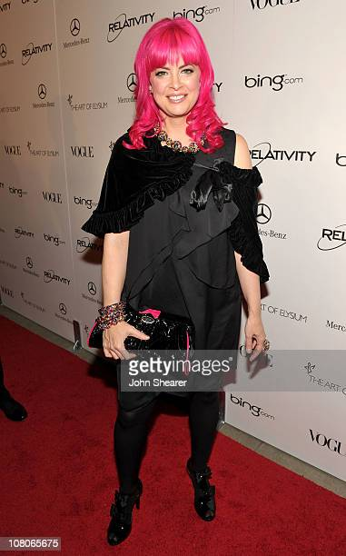 Designer Tarina Tarantino arrives at the 2011 Art Of Elysium Heaven Gala held at the California Science Center on January 15 2011 in Los Angeles...
