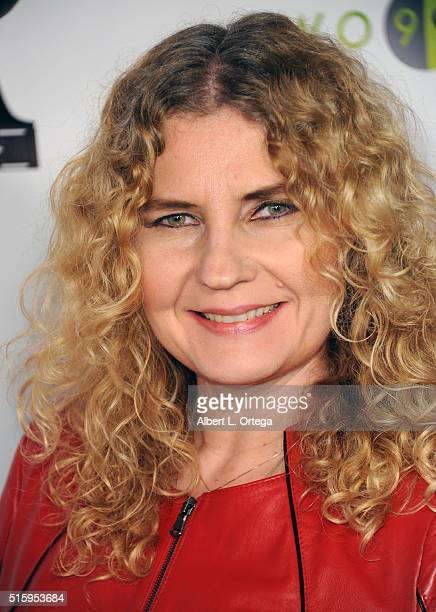 Designer Tatiana Shabelnik arrives for the Premiere Of JR Productions' Halloweed held at TCL Chinese 6 Theatres on March 15 2016 in Hollywood...