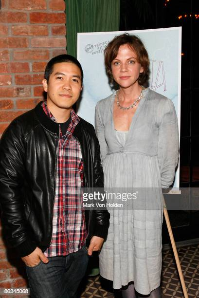 Designer Thakoon and Director/ Writer Libby Spears attends the Playground screening gala at The Bowery Hotel on May 1 2009 in New York City