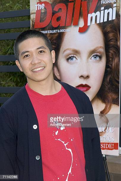 Designer Thakoon attends the launch of the Daily on June 6 2006 in New York