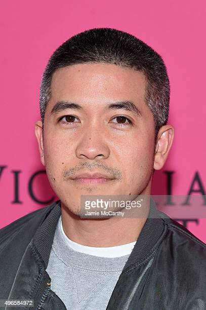Designer Thakoon Panichgul attends the 2015 Victoria's Secret Fashion Show at Lexington Avenue Armory on November 10 2015 in New York City