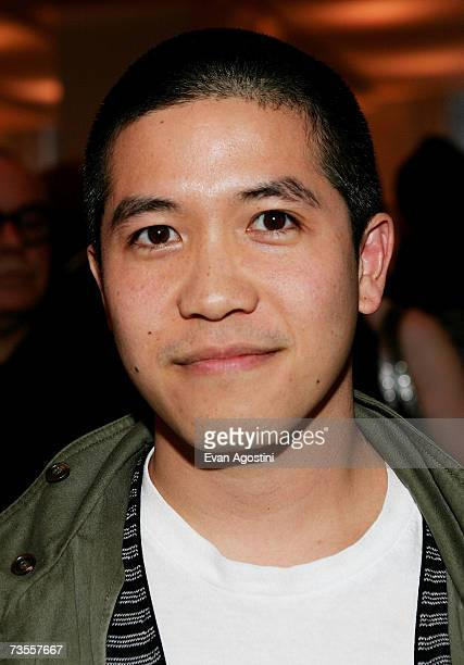 Designer Thakoon Panichgul attends the announcement of the nominees and honorees for the CFDA fashion awards at Rockefeller Center on March 12 2006...