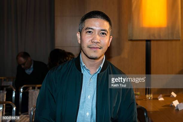 Designer Thakoon Panichgul attends The Business of Fashion Announces VOICES BoF's Annual Gathering For Big Thinkers event on December 8 2015 in Hong...