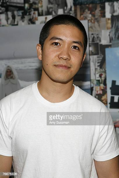 Designer Thakoon Panichgul attends the CFDA Book Signing with Diane Von Furstenberg during the MercedesBenz Fashion Week Spring 2008 on September 11...