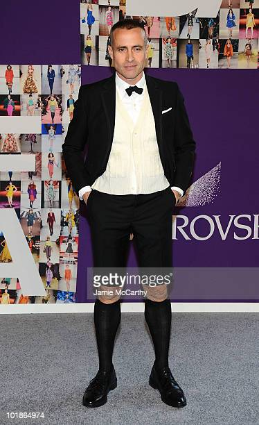 Designer Thom Browne attends the 2010 CFDA Fashion Awards at Alice Tully Hall at Lincoln Center on June 7 2010 in New York City