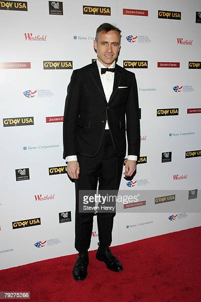20b4dc49b55 Designer Thom Browne attends the G Day Australia Week 2008 Black Tie Gala  at the