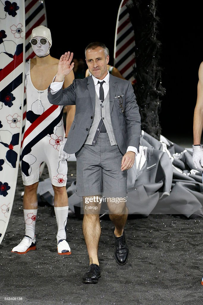 Thom Browne : Runway - Paris Fashion Week - Menswear Spring/Summer 2017