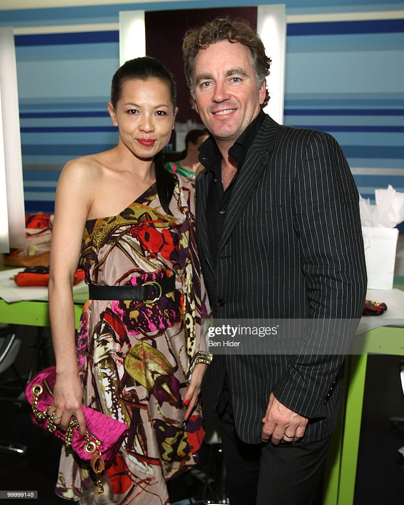 Designer Thuy Diep and Rodney Cutler attend the Celebrate Summer in Style party at Cutler Soho Salon on May 19, 2010 in New York City.