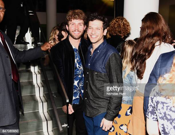 Designer Timo Weiland and Jeff Petriello attend The 2017 Armory Party at The Museum of Modern Art on March 1 2017 in New York City