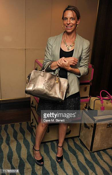 Designer Tiphaine de Lussy attends the Loewe Lunch to introduce the new collection of Loewe handbags and cases at Scott's Restaurant on July 1 2011...
