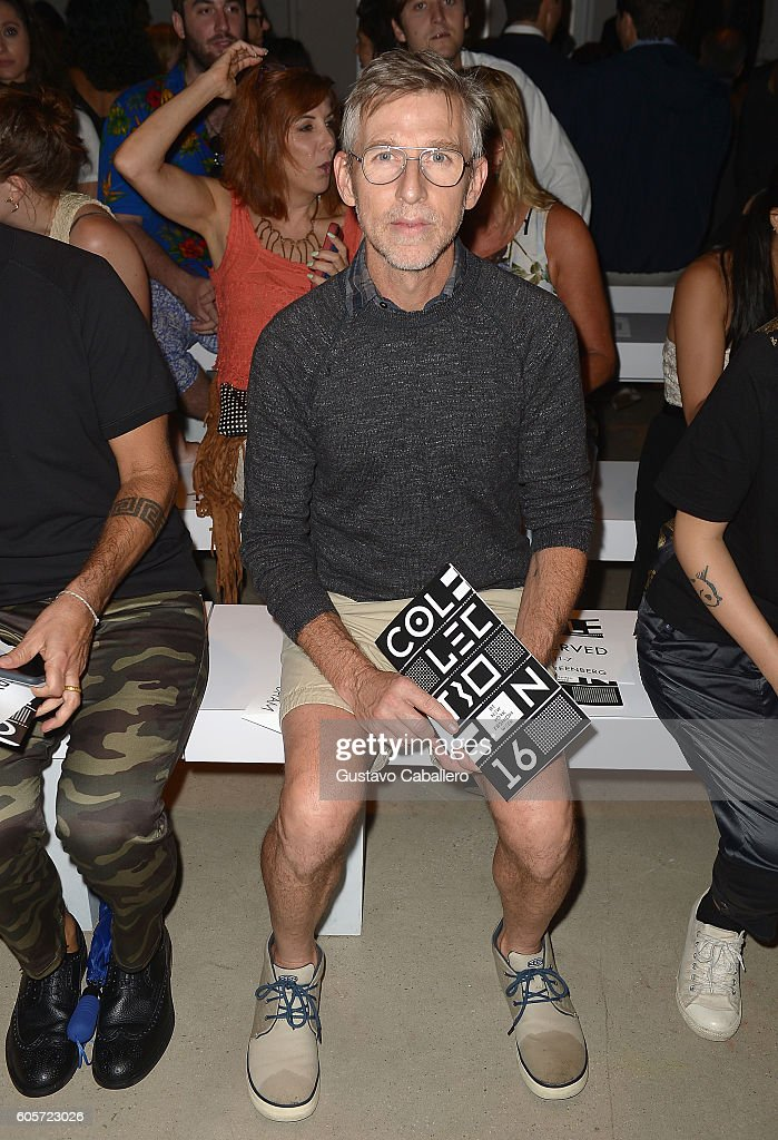 Designer Todd Oldham seen around New York Fashion Week: The Shows September 2016 at The Gallery, Skylight at Clarkson Sq on September 14, 2016 in New York City.