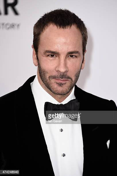 Designer Tom Ford attends amfAR's 22nd Cinema Against AIDS Gala Presented By Bold Films And Harry Winston at Hotel du CapEdenRoc on May 21 2015 in...