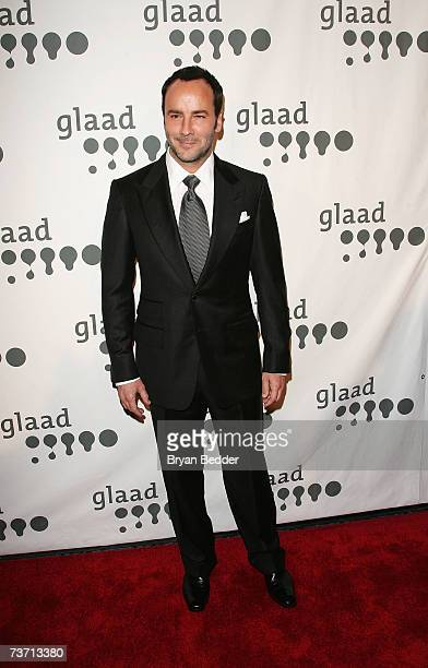 Designer Tom Ford attends the 18th annual GLAAD Media Awards at the Marriott Marquis Hotel March 26 2007 in New York City
