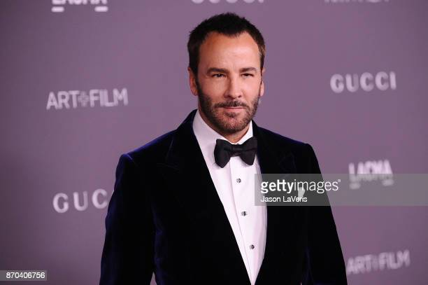 Designer Tom Ford attends the 2017 LACMA Art Film gala at LACMA on November 4 2017 in Los Angeles California