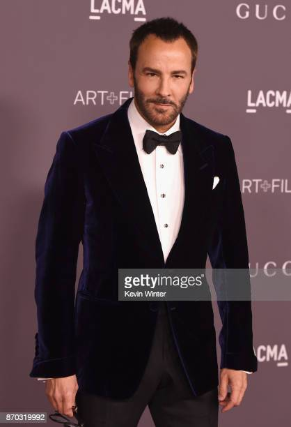Designer Tom Ford attends the 2017 LACMA Art Film Gala Honoring Mark Bradford And George Lucas at LACMA on November 4 2017 in Los Angeles California
