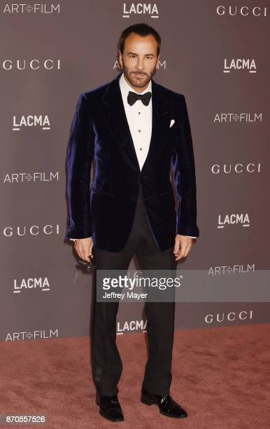 Designer Tom Ford attends the 2017 LACMA Art + Film Gala Honoring Mark Bradford and George Lucas presented by Gucci at LACMA on November 4, 2017 in...