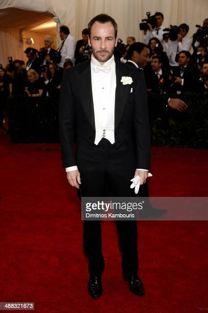 Designer Tom Ford attends the Charles James Beyond Fashion Costume Institute Gala at the Metropolitan Museum of Art on May 5 2014 in New York City