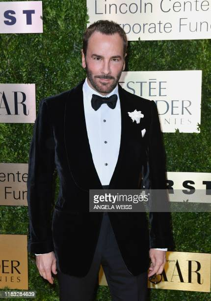 Designer Tom Ford attends the Lincoln Center Corporate Fund Fashion Gala honoring Leonard A. Lauder at Alice Tully Hall on November 18, 2019 in New...