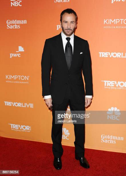 Designer Tom Ford attends The Trevor Project's 2017 TrevorLIVE LA at The Beverly Hilton Hotel on December 3 2017 in Beverly Hills California