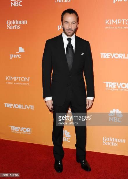 Designer Tom Ford attends The Trevor Project's 2017 TrevorLIVE LA at The Beverly Hilton Hotel on December 3 2017 in Beverly Hills California