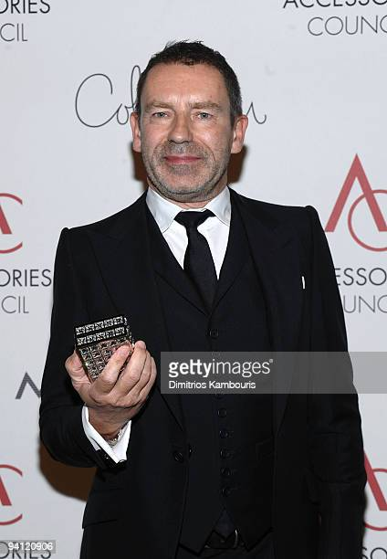 Designer Tomas Maier attends the 13th Annual 2009 ACE Awards presented by the Accessories Council at Cipriani 42nd Street on November 2, 2009 in New...
